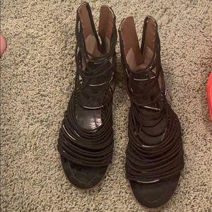 Sigerson morrison black sandals. Size 7 1/2